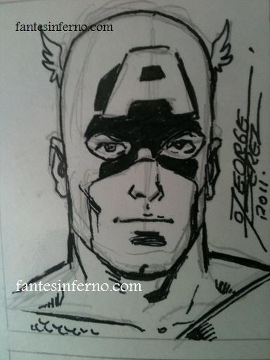 Captain America - George Perez