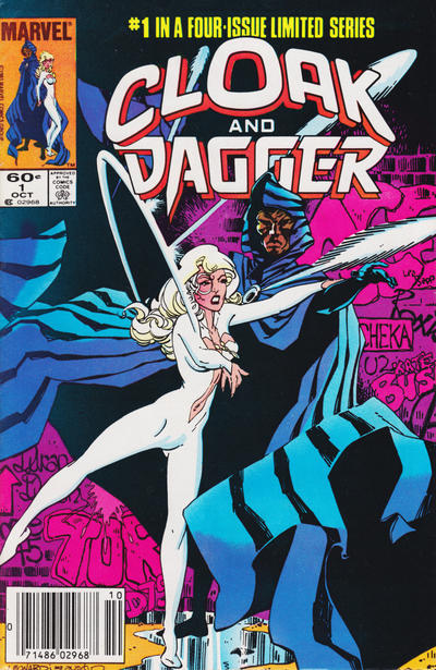 Cloak and Dagger #1 (October 1983)Cover by Rick Leonardi and Terry Austin