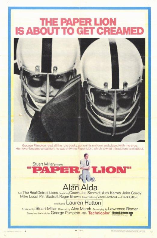 Paper Lion Movie Poster