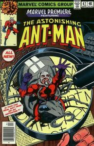 Ant-Man Cover