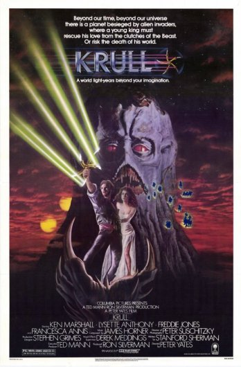 Krull Movie Poster