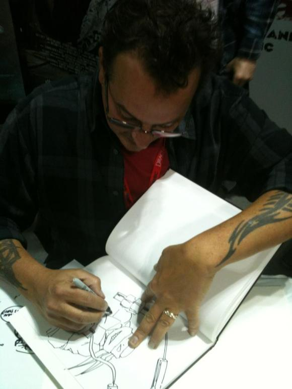 Kevin Eastman - NYCC 2013