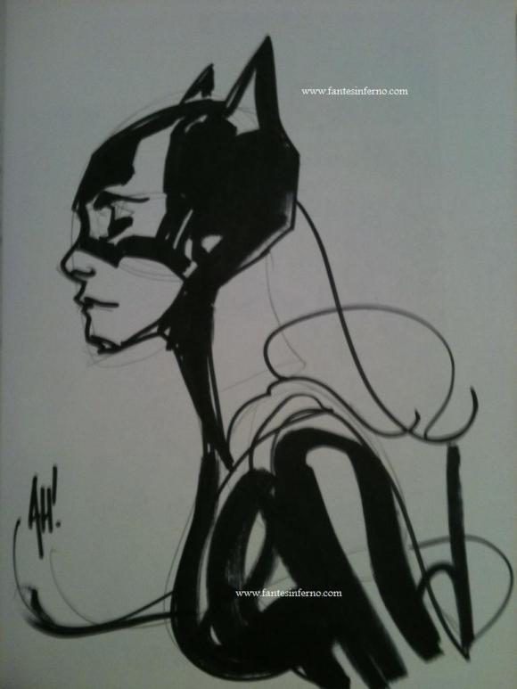 Batgirl drawn by Adam Hughes