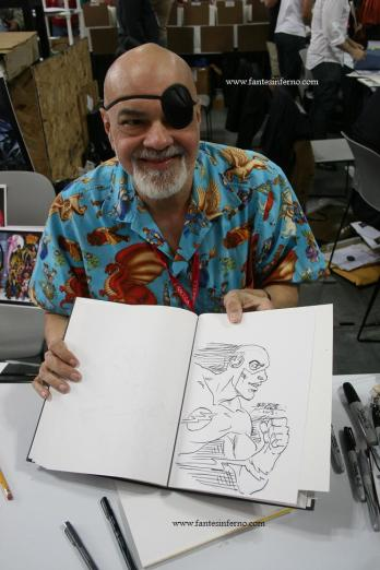 NYCC George Perez Flash