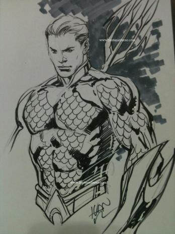NYCC - Ivan Reis Aquaman