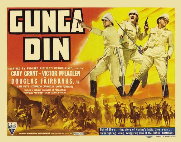 Gunga Din 1939 Movie Poster