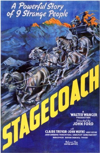 Stagecoach 1939 Movie Poster