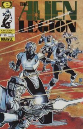 Alien Legion Cover