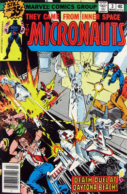 Micronauts 3 Cover