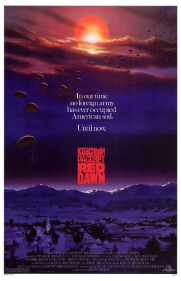 Red Dawn Movie Poster