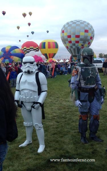 The 501st Legion at the 2014 Albuquerque Hot Air Balloon Fiesta (image copyright 2014 Fante's Inferno)