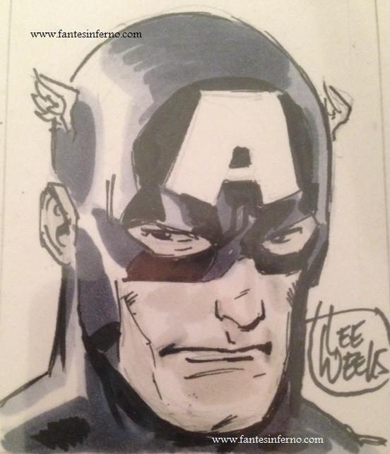 Captain America - Lee Weeks