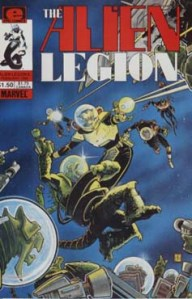 Alien Legion 6 Cover