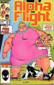 Alpha Flight 22 Cover