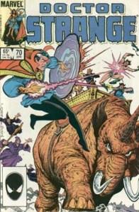 Doctor Strange 70 Cover