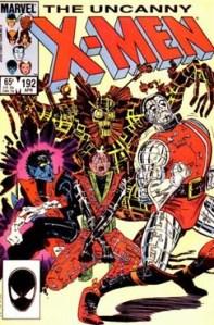 Uncanny X-Men 192 Cover