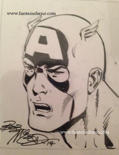Captain America - Bob McLeod
