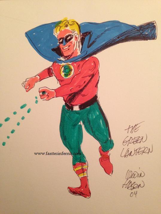 Irwin Hasen - Green Lantern