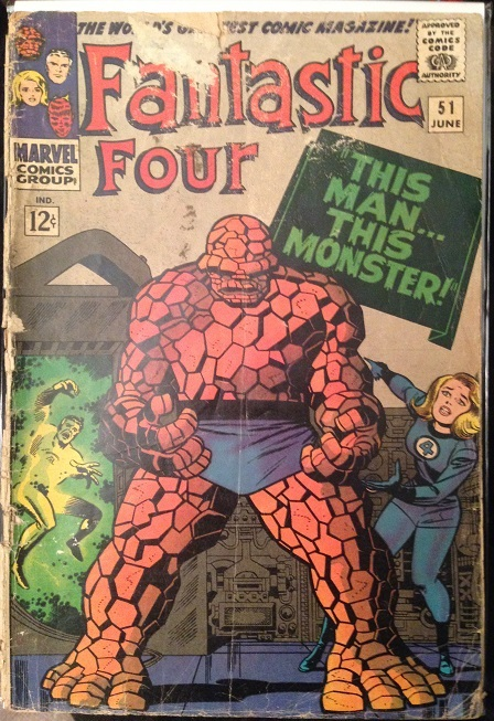 Fantastic Four #51 Cover