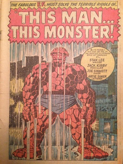 Fantastic Four #51 Splash Page