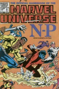 Official Handbook of the Marvel Universe 8