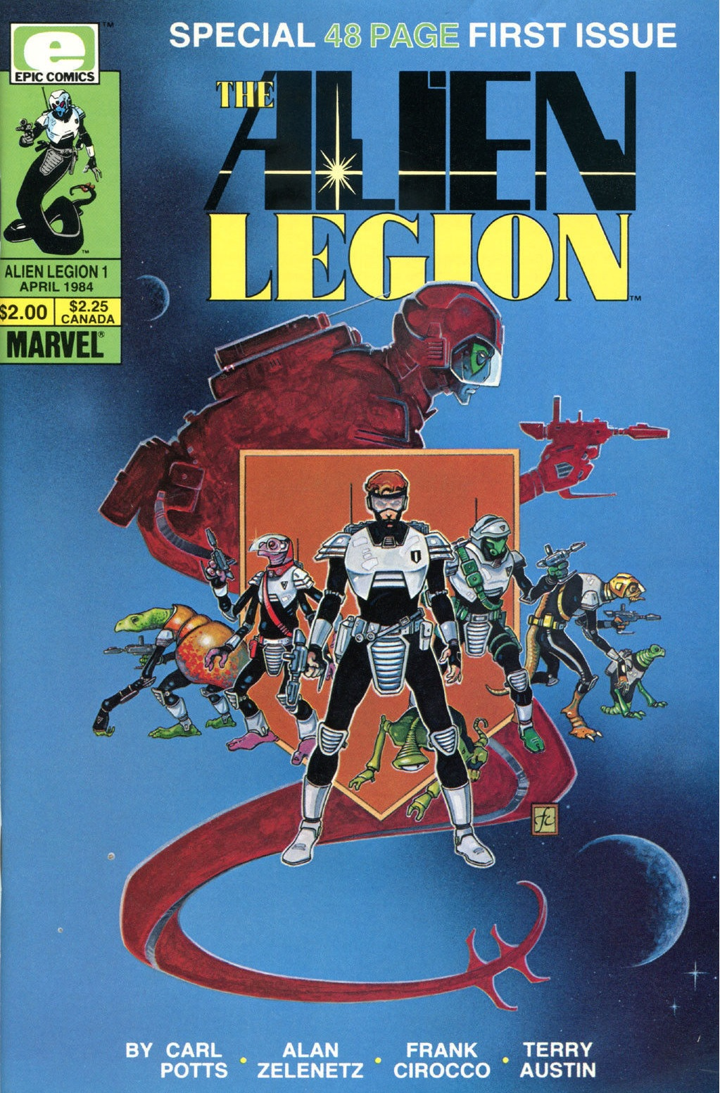 Alien Legion 1 Cover